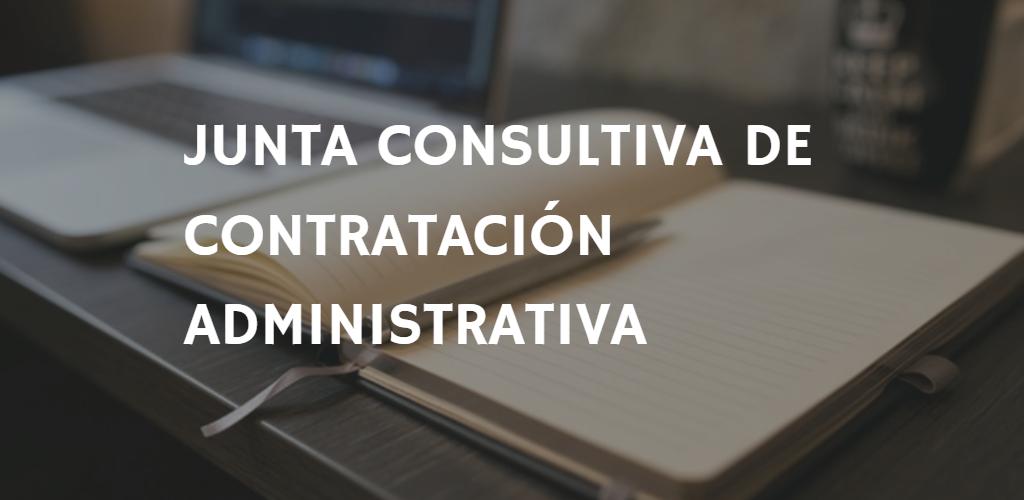 Recomendaciones de la Junta Consultiva de Contratación Administrativa.